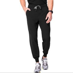 FIGS Tansen Jogger Scrub Pants in Black XXL